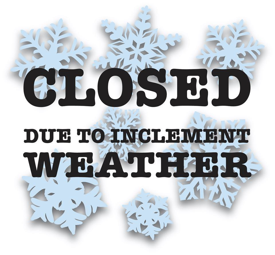 MTMS Closed Wed 2/7/18 for Inclement Weather